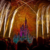 Fireworks : My favorite place to photograph fireworks is Disney World.  Fortunately I only live three hours from  the Magic Kingdom and will often drive up just to photograph the event.